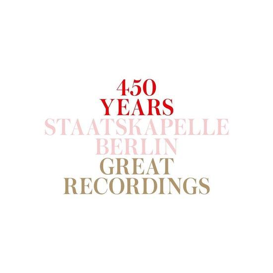 450 Jahre Staatskapelle Berlin