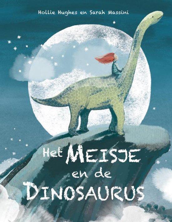 Boek cover Het meisje en de dinosaurus van Holly Hughes (Hardcover)