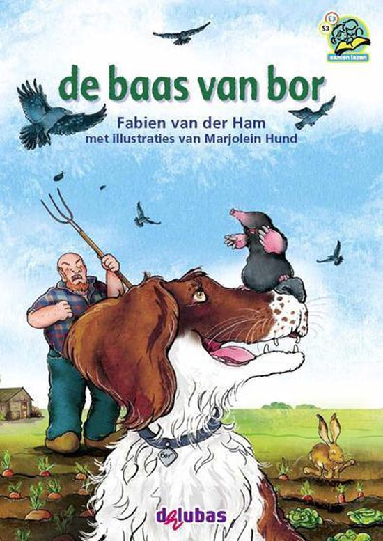 Samenleesboeken - De baas van bor - Fabien van der Ham |
