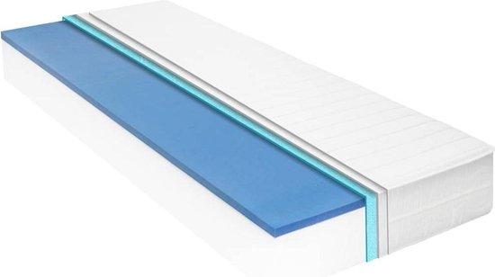 vidaXL Matras 18 cm visco-traagschuim 180x200 cm