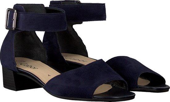 Gabor Dames Sandalen 723 - Blauw Maat 40,5 DasTMb