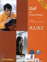 DaF im Unternehmen A1/A2 Kursbuch mit Audios und Filmen onli