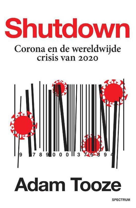 Boek cover Shutdown van Adam Tooze (Paperback)