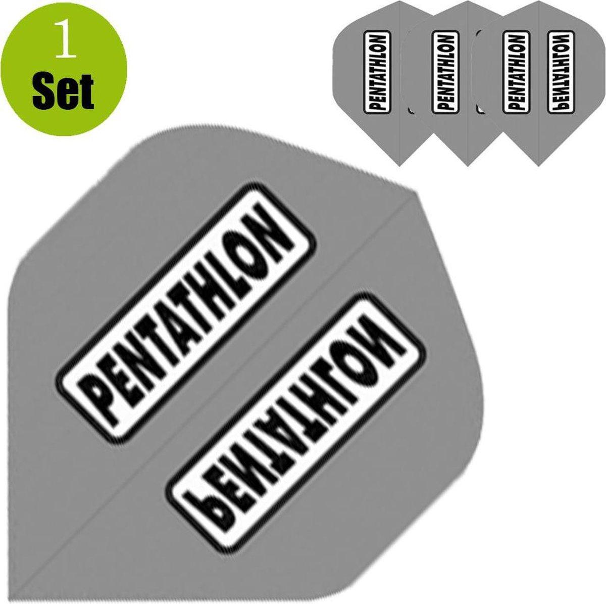 Pentathlon Dartflights - Grijs- ()