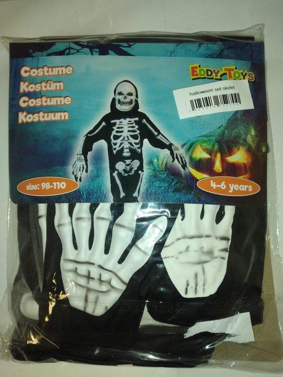 Verkleedset Skelet mummie, verkleedkleding halloween, @kindercrea