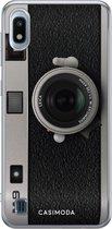 Samsung Galaxy A10 siliconen telefoonhoesje - Camera