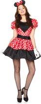 """Miss Mouse kostuum voor vrouwen  - Verkleedkleding - Large"""