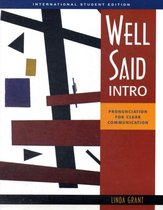 International Student Edition for Well Said Intro