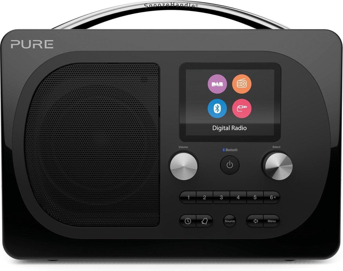 Pure Evoke H4 Prestige Edition Draagbaar Digitaal Zwart radio