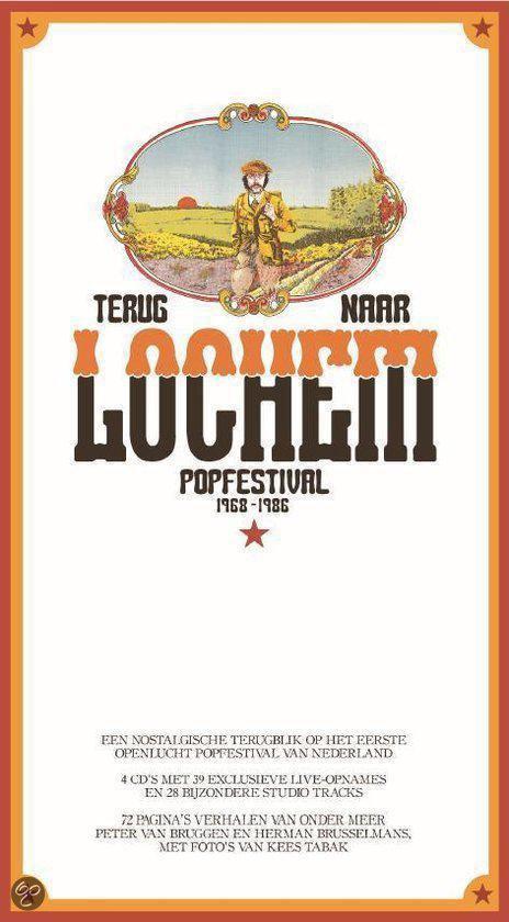 Terug Naar Lochem Popfestival 1968 - 1986 (4Cd+Boek)