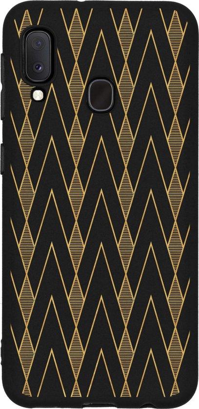 Design Backcover Color Samsung Galaxy A20e hoesje - Graphic Deco