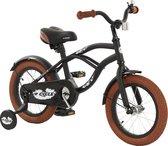 2Cycle Cruiser Kinderfiets - 14 inch - Mat-Zwart