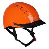 Horka Ruitercap Champion Unisex Oranje Maat Xs/s