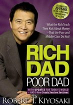 Boek cover Rich Dad Poor Dad van Robert Kiyosaki (Onbekend)