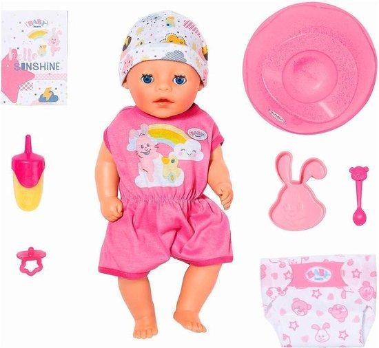 BABY born Soft Touch Little – Klein Zusje – Babypop 36cm
