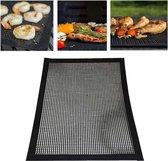 Barbecue grillen van hittebestendig Non-stick gaas BBQ-bakken Mat formaat: 40 x 30cm