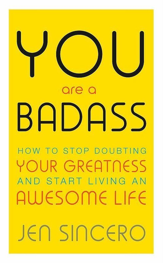 Boek cover You Are a Badass van Jen Sincero (Paperback)