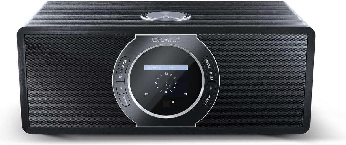 Sharp DR-I470(BK)PRO stereo DAB+ internet radio - zwart