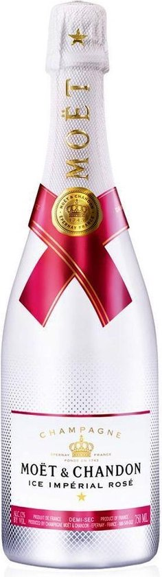 Moët & Chandon Ice Rosé Champagne - 1 x 75 cl