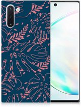 Back Case Samsung Note 10 TPU Siliconen Hoesje Palm Leaves