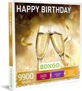 Bongo Bon Nederland - Happy Birthday Cadeaubon - Cadeaukaart cadeau voor man of vrouw | 9900 activiteiten voor groot en klein: cultuur, plezier, sportief en meer