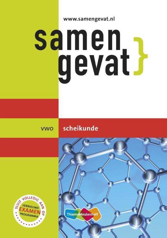 Boek cover Samengevat vwo Scheikunde van R.J. van der Vecht (Paperback)