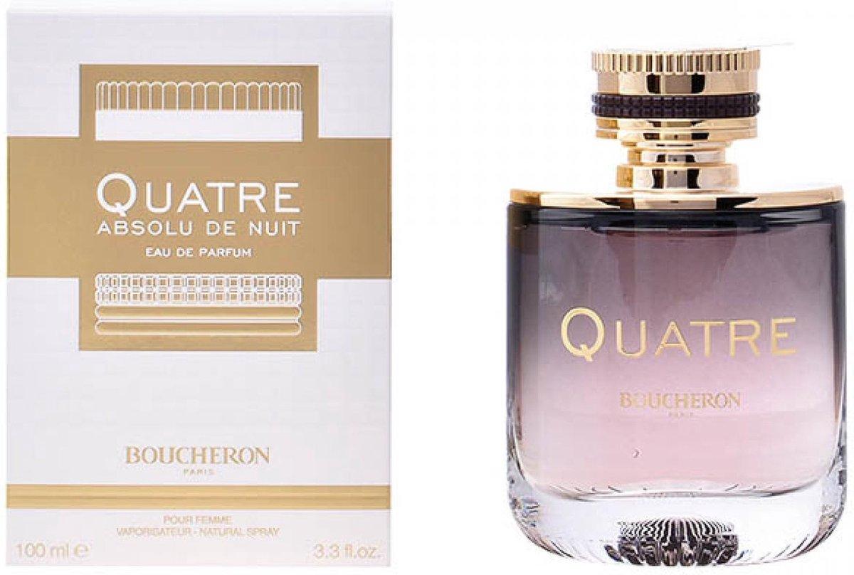 Boucheron Quatre Absolu de Nuit 100 ml eau de parfum spray damesparfum
