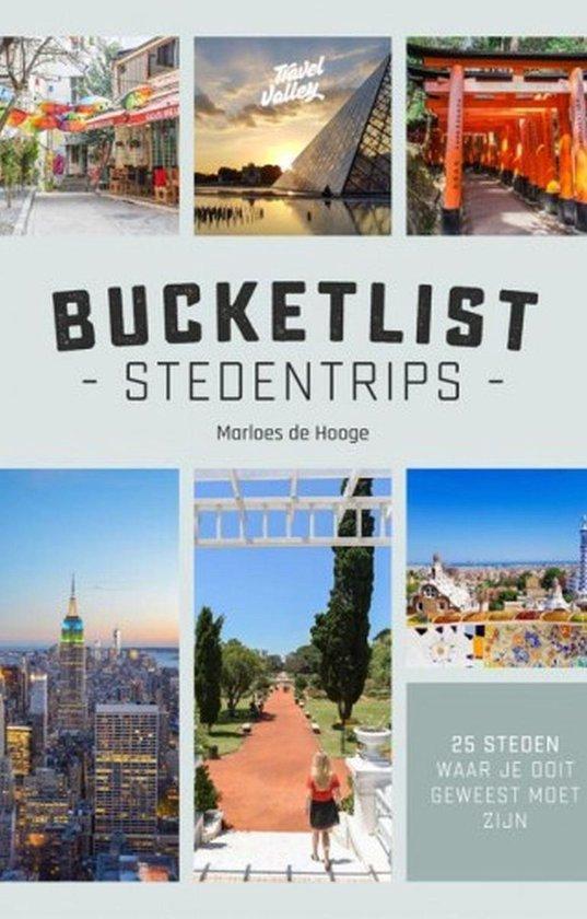 Boek cover Bucketlist stedentrips van Marloes de Hooge (Onbekend)