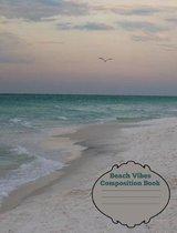 Beach Vibes Composition Book