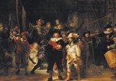 Rembrandt van Rijn poster De Nachtwacht 50x70cm.
