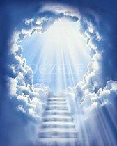 Diamond Painting Stairway to heaven 40x50cm. DP Volledige bedekking - Ronde steentjes - diamondpainting inclusief tools