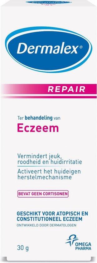 Dermalex Eczeem behandeling  repair creme - 30 gram