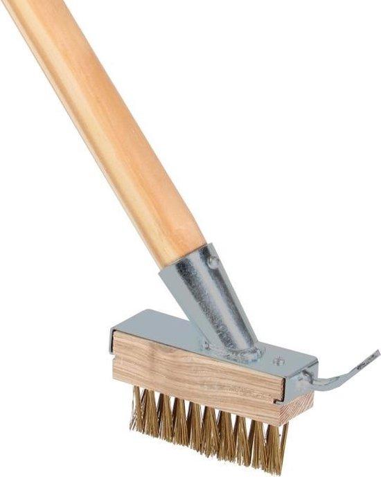 Talen Tools - Onkruidborstel - Met houder en steel - Steel 160 cm