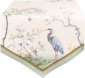 Clayre & Eef Tafelloper 50*160 cm Meerkleurig Katoen Rechthoek Tafelkleed Loper Tafeltextiel