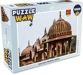 Puzzel 1000 stukjes volwassenen India 1000 stukjes - Galtaji Tempel India  - PuzzleWow heeft +100000 puzzels