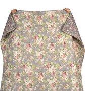 Clayre & Eef Bedsprei Q188.059 140*220 cm - Meerkleurig Polyester SpreiPlaidDeken