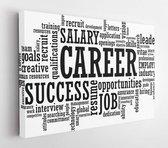 Job Career Employment Opportunity word cloud raster illustration  - Modern Art Canvas - Horizontal - 253725607 - 80*60 Horizontal