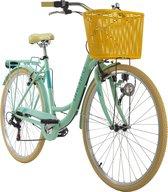 Ks Cycling Fiets Stadsfiets 6 versnellingen Cantaloupe 28 inch groen - 48 cm