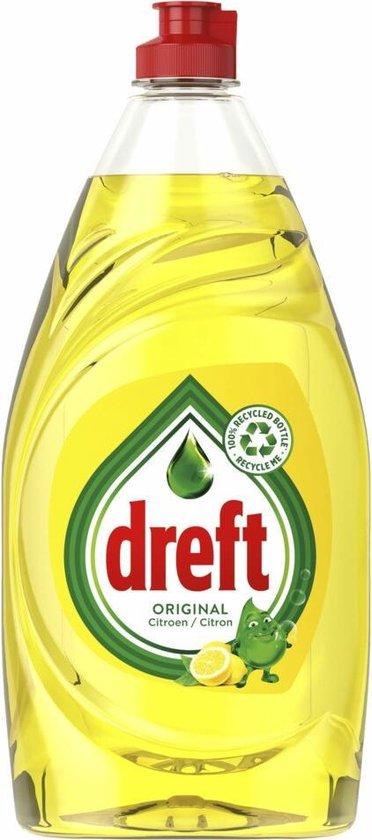Dreft Original Citroen Vloeibaar Afwasmiddel Met LiftAction - Voordeelverpakking 8 x 890ml