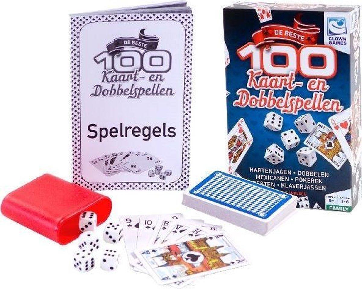 Clown Games 100 Kaart & Dobbel Spellen