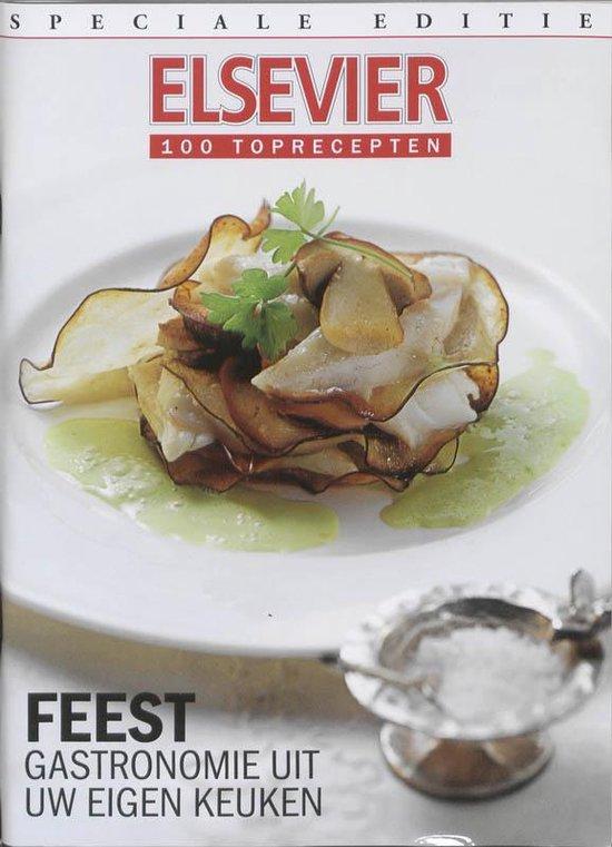 Cover van het boek '100 Toprecepten Feest'