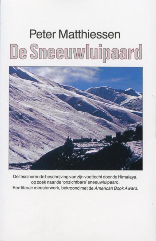 Boek cover De sneeuwluipaard van P. Matthiessen