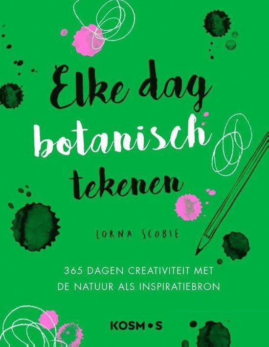 Boek cover Elke dag botanisch tekenen van Lorna Scobie (Hardcover)