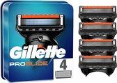 Gillette ProGlide Scheermesjes Voor Mannen - 4 Navulmesjes - Zwart