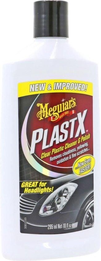 Meguiars G12310 PlastX Clear Plastic Cleaner & Polish 296ml