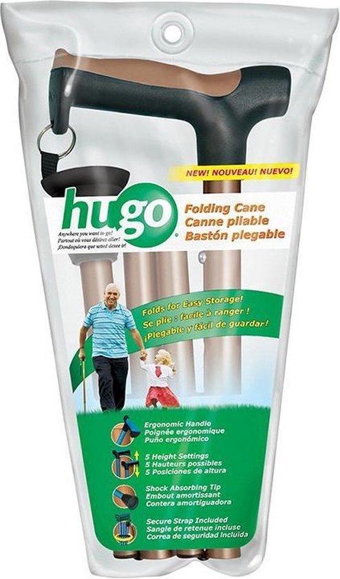 Hugo® Opvouwbare wandelstokken - bruin - Hugo - Hugo®