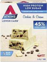 Atkins Maaltijdrepen - Cookies & Cream - 20 repen