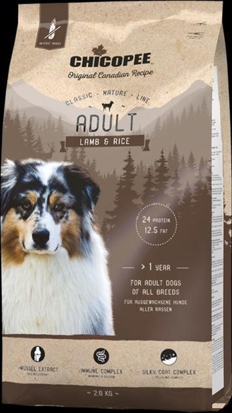 Chicopee CNL Adult Lamb & Rice Content - 15 kg
