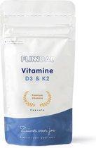 Vitamine D3 & K2 - 30 capsules - 62,5 mcg vitamine D3 (2500 IE) en 100 mcg vitamine K2. Combinatie om botten gezond te houden