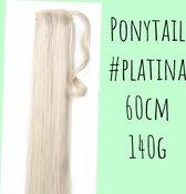 Clip In Ponytail #platina blond